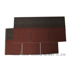 Red 3-Tab Asphalt Roof Tiles